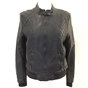 CiSono Quilted Moto Jacket NWOT
